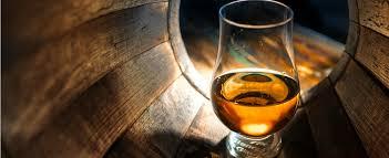 vintage whisky in barrel